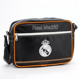 Geanta de umar pentru laptop FC Real Madrid negru