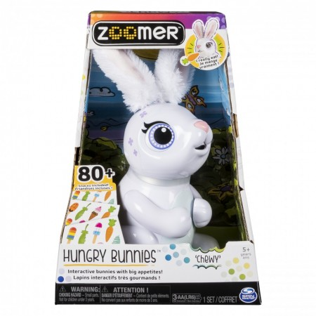 Poze Iepure interactiv Chewy Zoomer Hungry Bunnies