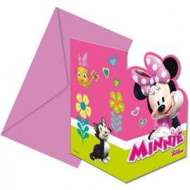 Invitatii pentru petrecere Minnie Mouse