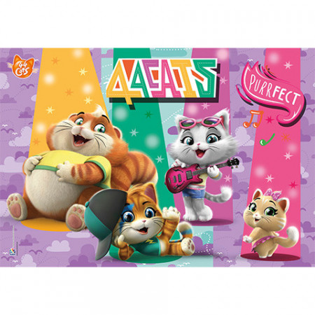 Puzzle 44 Cats Clementoni 104 piese