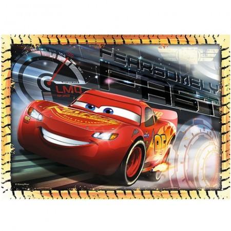Puzzle Cars 3 Disney 4 in 1