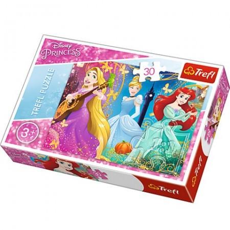 Puzzle Printesele Disney 30 piese