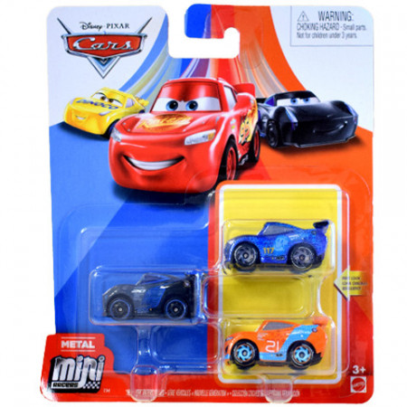 "Set 3 masinute metalice ""Next Gen"" Mini Racers Cars 3"