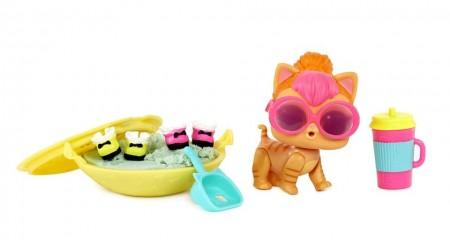 Set animalut LOL Surprise Pets si 6 accesorii Seria 3