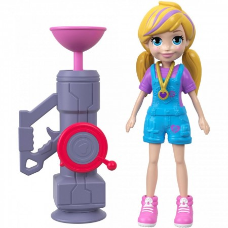 Set de joaca Polly Zip 'n' Blast Polly Pocket