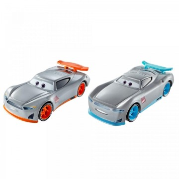 Poze Set de masinute metalice Gabriel si Aiden Cars 3