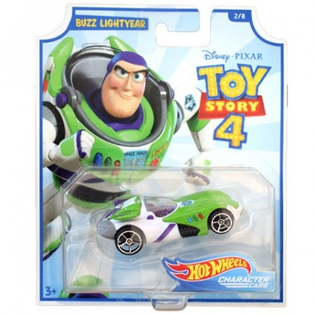 Masinuta metalica Buzz Lightyear Toy Story 4 Hot Wheels