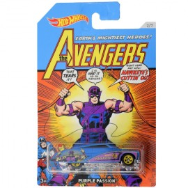 Poze Masinuta metalica Hawkeye Avengers Hot Wheels