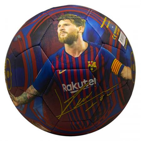 Minge de fotbal Lionel Messi 2019 FC Barcelona + cutie cadou