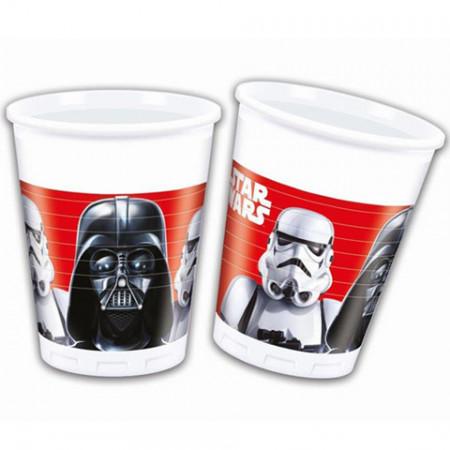 Pahare de plastic pentru petrecere Star Wars