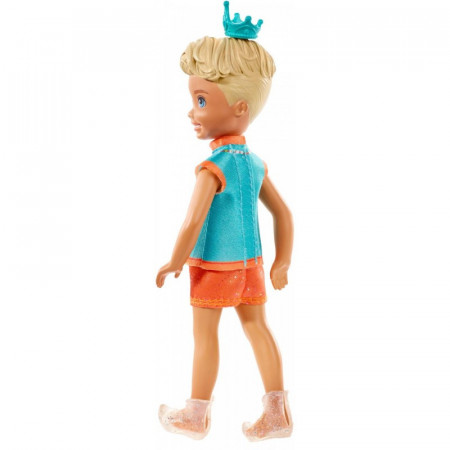 Papusa Sprite baiat cu par blond Chelsea Barbie Dreamtopia