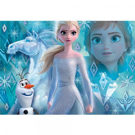 Puzzle Frozen 2 Elsa si Olaf Clementoni 104 piese