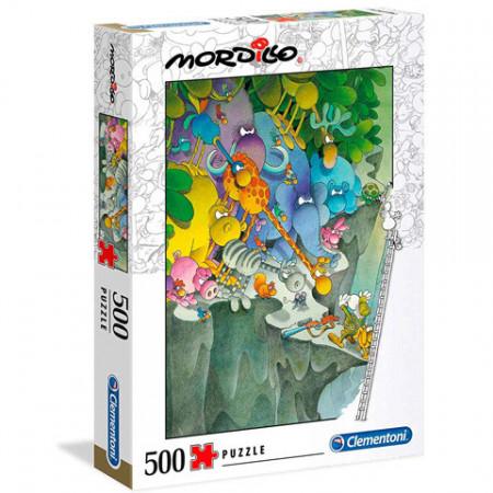 Puzzle Mordillo The Surrender Clementoni 500 piese