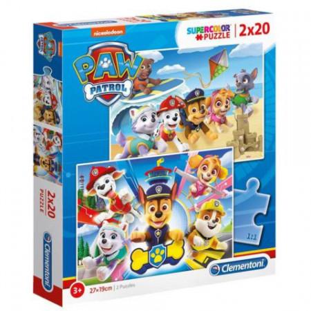 Puzzle Patrula Catelusilor Clementoni 2x20 piese