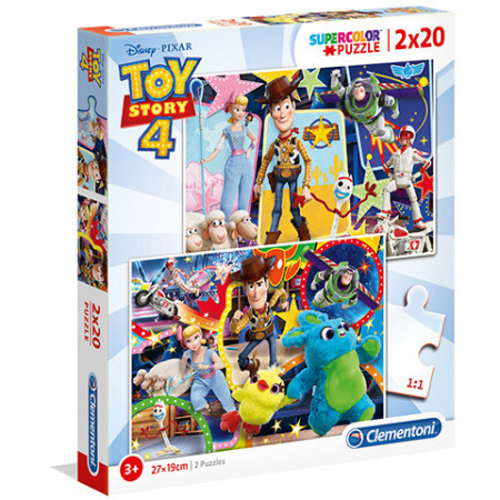 Puzzle Toy Story 4 Clementoni 2x60 piese