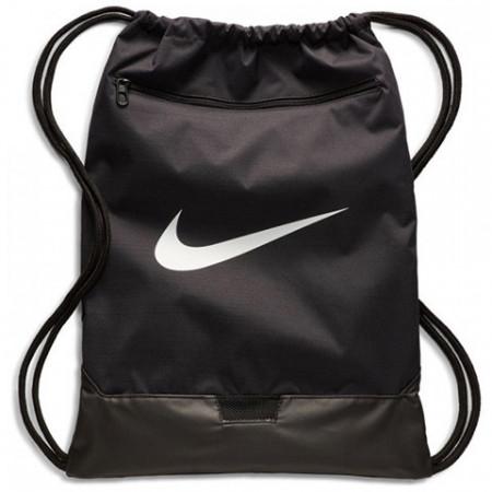 Sac de umar cu snur Nike Brasilia mare negru