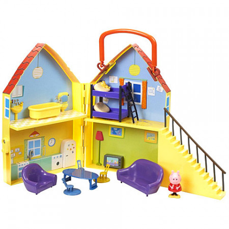 Set de joaca Peppa's Playhouse Purcelusa Peppa