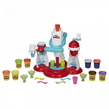 Set de joaca plastilina Ultimate Swirl Ice Cream Maker Play Doh