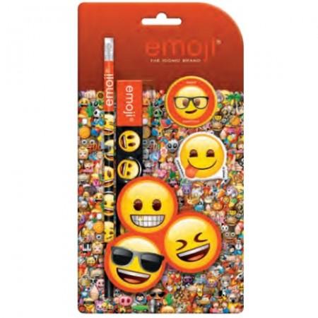 Set de papetarie Emoticon 4 bucati