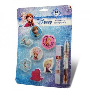 Set de papetarie Frozen 10 bucati