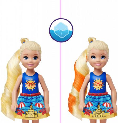 Set papusa Chelsea Barbie Color Reveal