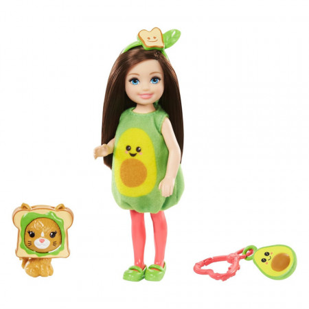 Set papusa Chelsea satena avocado Barbie Club Chelsea