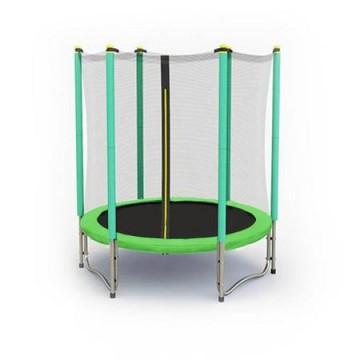 Trambulina cu plasa de protectie Sportmann verde 140 cm