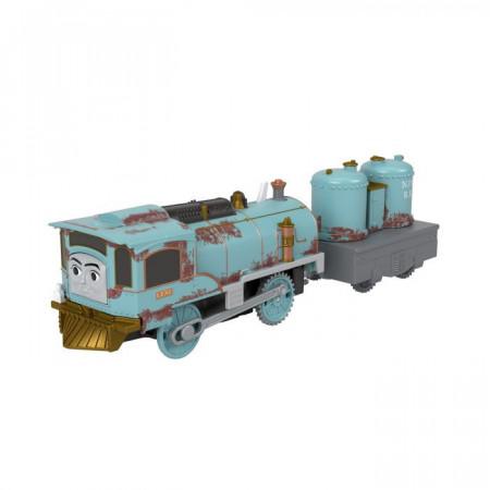 Trenulet Lexi Locomotiva Motorizata cu Vagon Thomas&Friends Track Master