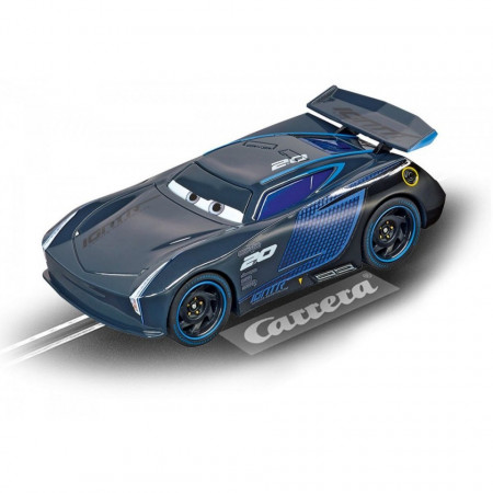 Circuit electric masinute Fulger McQueen si Jackson Storm Speed Challenge Cars 3 Carrera Go 4,9 m