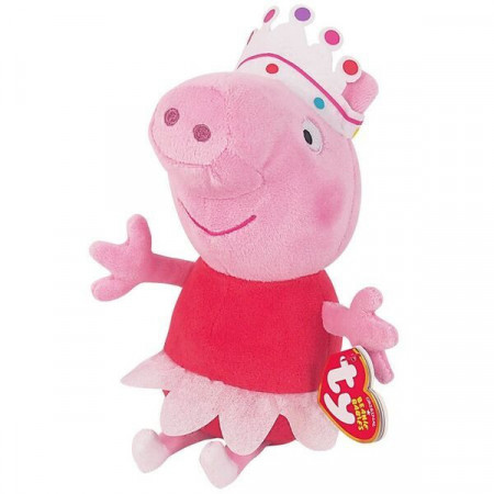 Figurina de plus Peppa balerina Purcelusa Peppa 20 cm