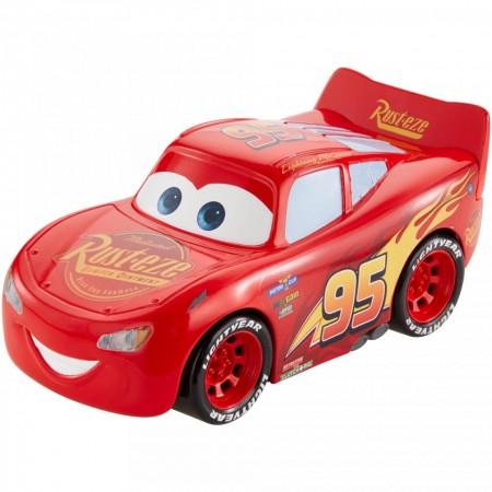 Masinuta mecanica Fulger McQueen Turbo Racers Disney Cars 3