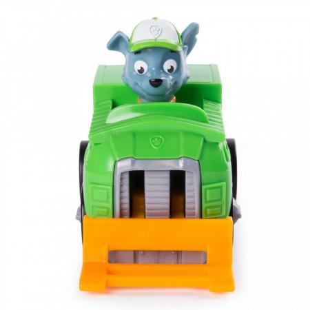 Masinuta mecanica Rocky Rescue Racer Patrula Catelusilor