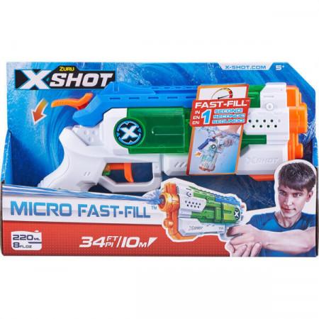 Pistol cu apa X-Shot Micro Fast Fill 26 cm