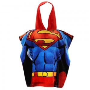 Prosop poncho Superman 115x55 cm