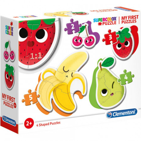 Puzzle 4 in 1 Fructe Clementoni 14 piese