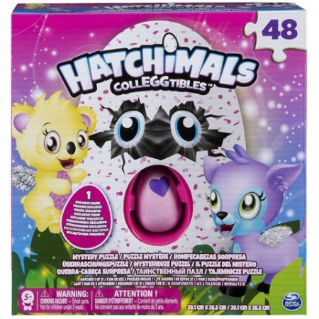Puzzle 48 piese Hatchimals Colleggtibles