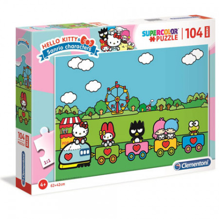 Puzzle Hello Kitty Clementoni 104 piese