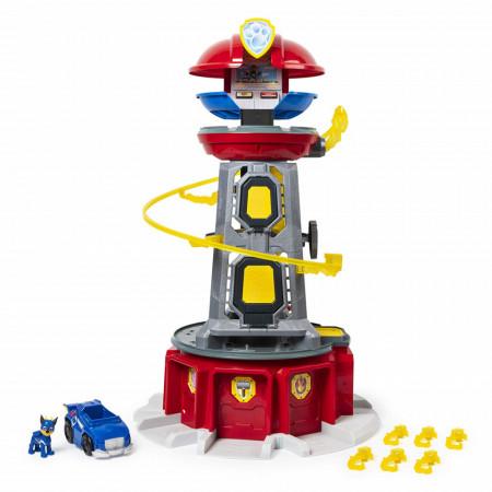 Set de joaca Mighty Lookout Tower Patrula Catelusilor Mighty Pups 84 cm