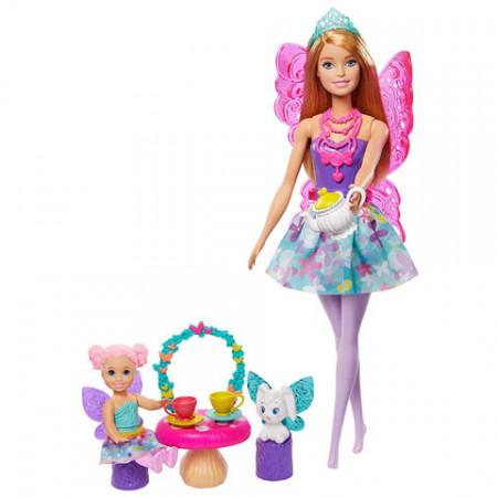 Set de joaca Tea Party Barbie Dreamtopia