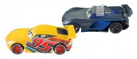 Set de masinute mecanice Cruz Ramirez si Jackson Storm Cascadoria de la Finish Cars 3
