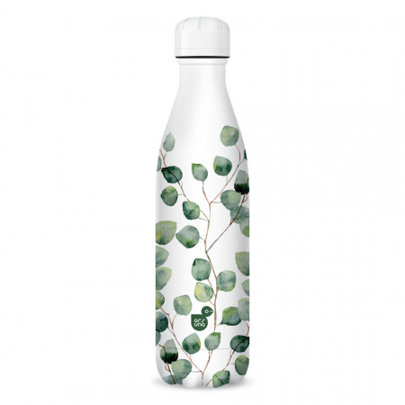 Sticla pentru apa termoizolanta Botanic Leaf Ars Una 500 ml