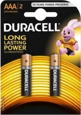 Baterii alcaline Duracell Basic AAA 2 buc