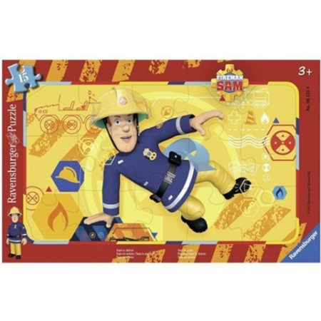 Puzzle de podea Pompierul Sam 24 piese