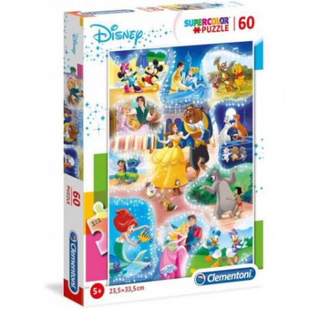 Puzzle Disney Dance Time Clementoni 60 piese