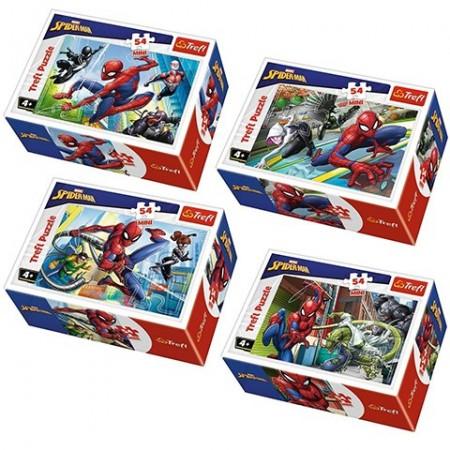 Puzzle Spiderman in actiune 54 piese