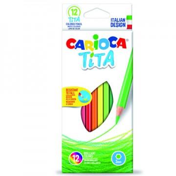 Set 12 creioane colorate Tita
