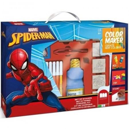 Set creativ Color Maker Spiderman