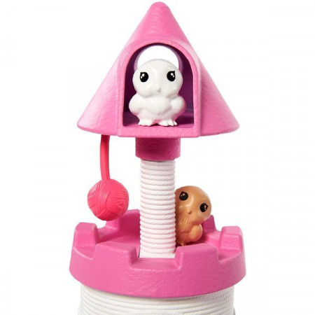 Set de joaca Chelsea Pet Castle Barbie Princess Adventure