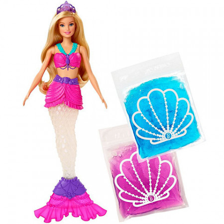 Set de joaca Slime Mermaid Barbie Dreamtopia