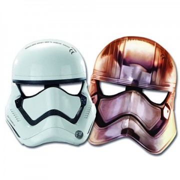 Set masti Stormtrooper si Captain Phasma Star Wars 6 bucati